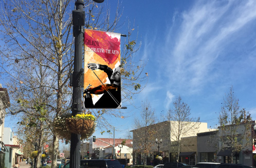 City of Gilroy Downtown Banner Art Series