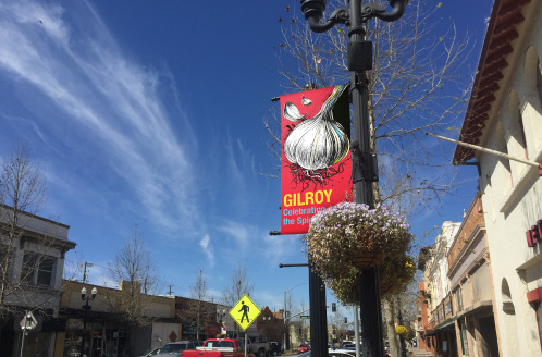City of Gilroy Downtown Banner Spice Series