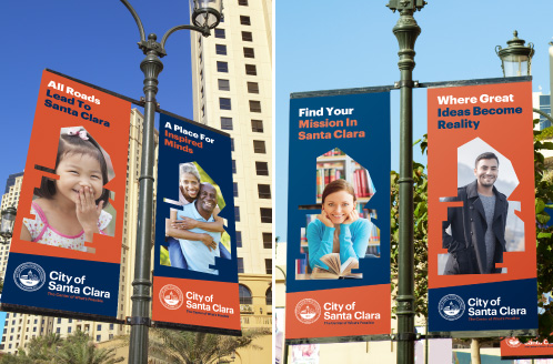 City of Santa Clara Street Pole Banners