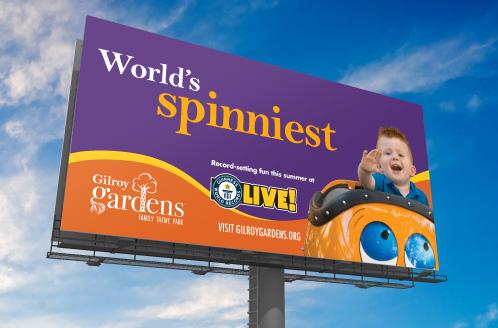 Gilroy Gardens Billboard