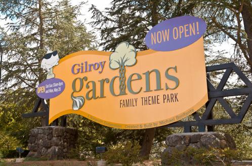 Gilroy Gardens Signs