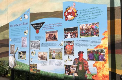 Gilroy Paseo Historical Garlic Festival Walk