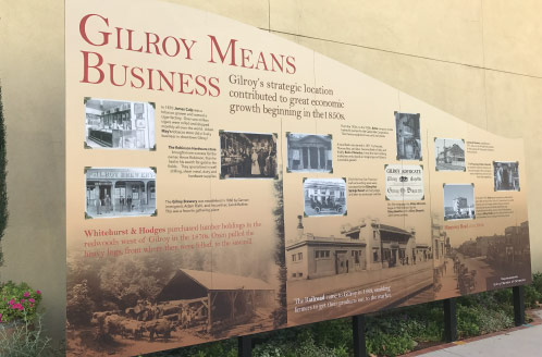 Gilroy Paseo Historical History Walk