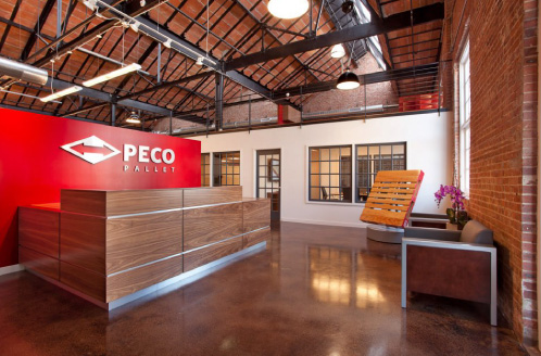 PECO Pallet Headquarters Interior