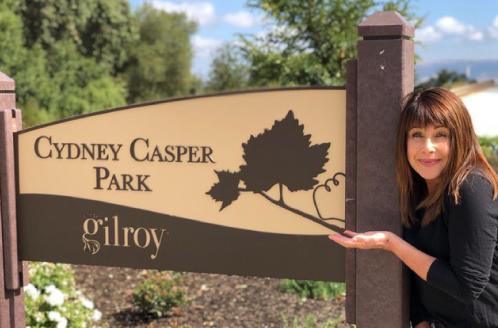 Cydney Casper Park Sign