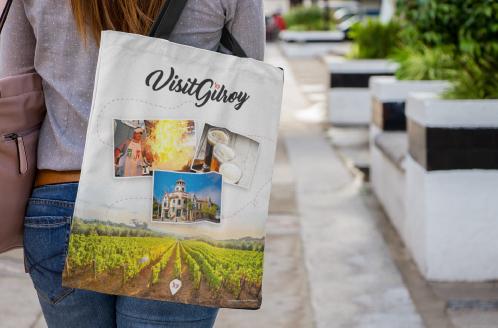 VisitGilroy Bag