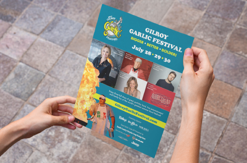 Gilroy Garlic Festival 2018 Ad
