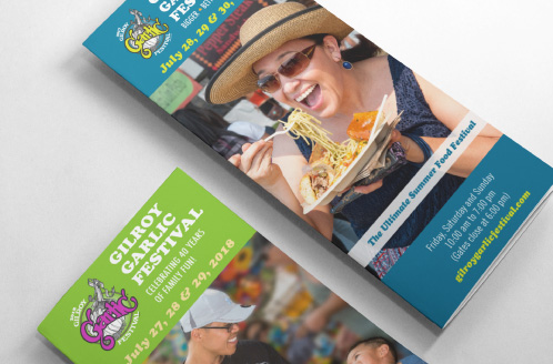 Gilroy Garlic Festival Brochure