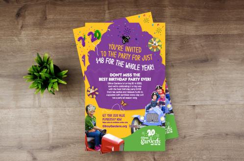 Gilroy Gardens Birthday Ad